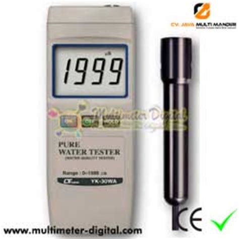 Alat Tes Ph Air Minum alat pengukur kemurnian air minum yk 30w cv jmm