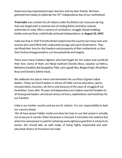 Freedom Of Speech Essay India by Speech On India S Freedom Fighters