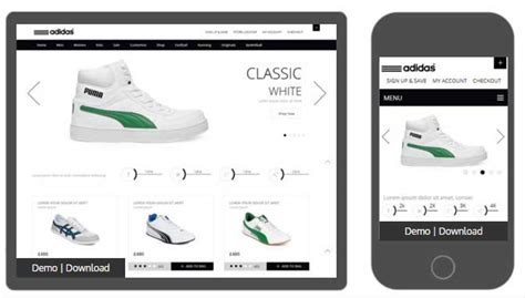 bootstrap shopping template 7 bootstrap ecommerce themes and templates for free and paid