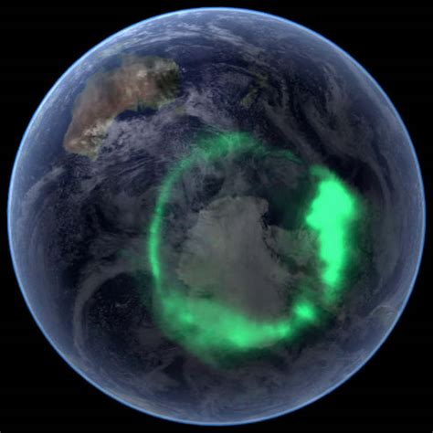 auroras from space pictures wordlesstech aurora australis from space