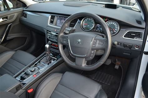 peugeot 508 interior 2012 peugeot 508 relaunched now with five variants including