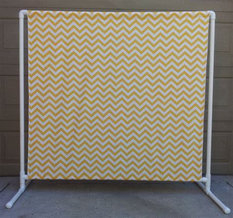 wedding backdrop using pvc pipe photo booth chevron backdrop wedding photo booth could