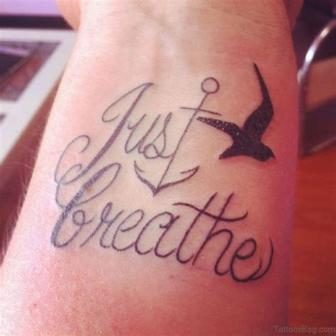 breathe wrist tattoo 54 just breathe tattoos on wrist