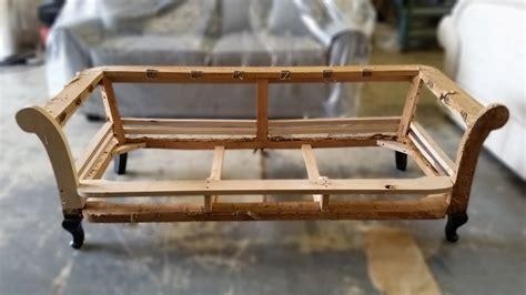 sofa frames for upholstery how to upholster a sofa frame brokeasshome com