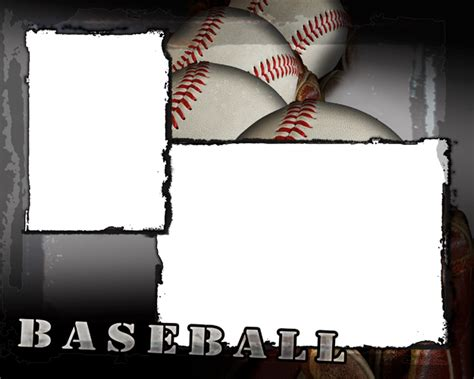 Baseball Photo Templates Baseball Photo Templates Photoshop