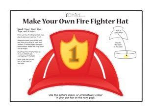Make Your Own Paper Hat - 21 best images about firefighter crafts on