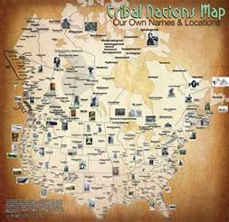 indian tribes of map white wolf oklahoma creates map of american