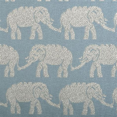 elephant upholstery fabric elephant upholstery fabric light blue animal woven