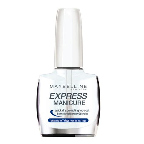 Express Manicure by Maybelline Express Manicure Top Coat 10 Ml 19 95 Kr
