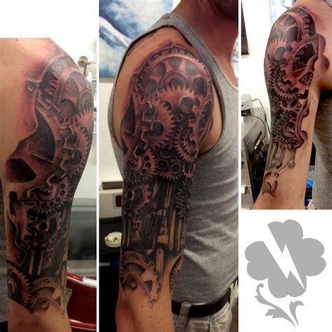 arm tattoo gears gear tattoo designs gears sleeve jpg steunk