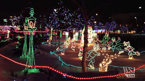 dazzling duluth christmas light display youtube