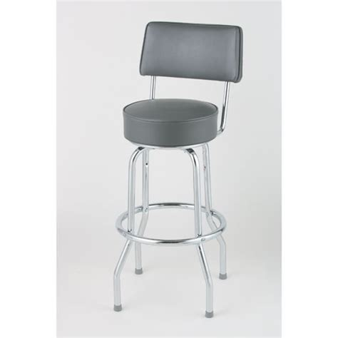 open back chrome ring bar stools us markerboard