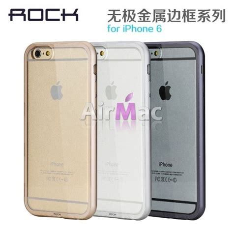 Bumper Ultrathin For Iphone 6 4 7 rock ultrathin aircraft aluminium bumper with