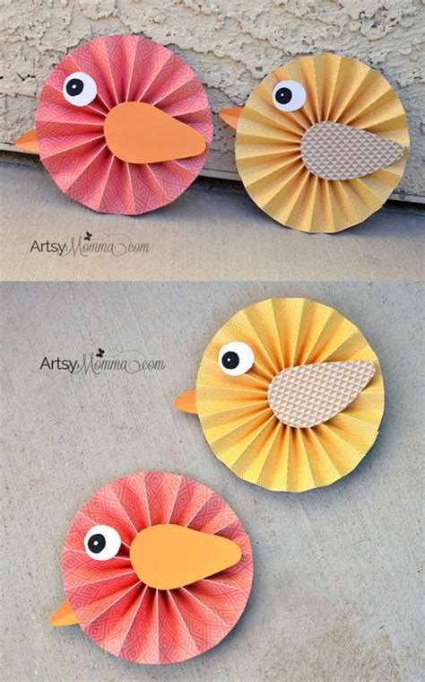 how to make paper rosette birds papier machen fr 252 hling