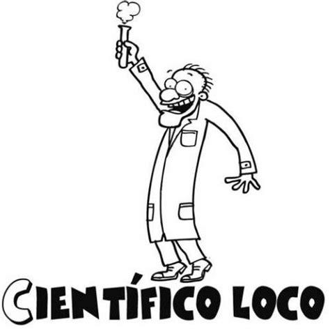 dibujos para colorear de cientificos dibujo para imprimir y colorear de cient 237 fico loco