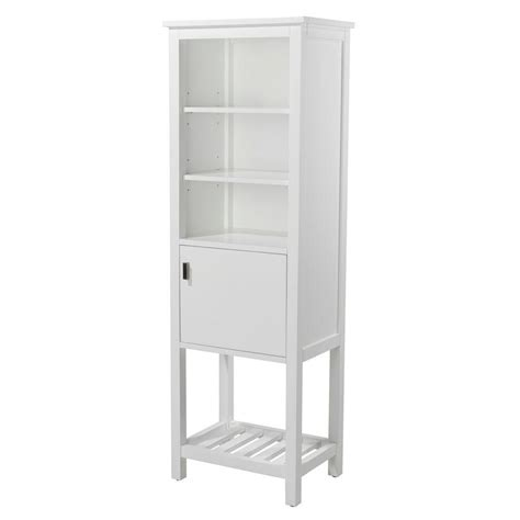 Home Depot Bathroom Storage Home Decorators Collection Fraser 20 In W X 60 In H X 14 In D Bathroom Linen Storage Cabinet