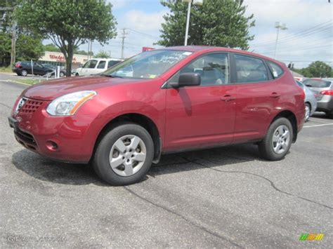 red nissan rogue 2008 venom red pearl nissan rogue s awd 52679416