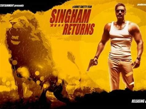 film action india singham returns is an upcoming indian action film