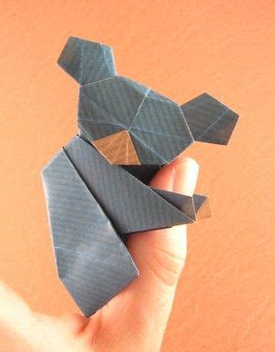 How To Make An Origami Koala - origami koala by watanabe dai folded by gilad aharoni