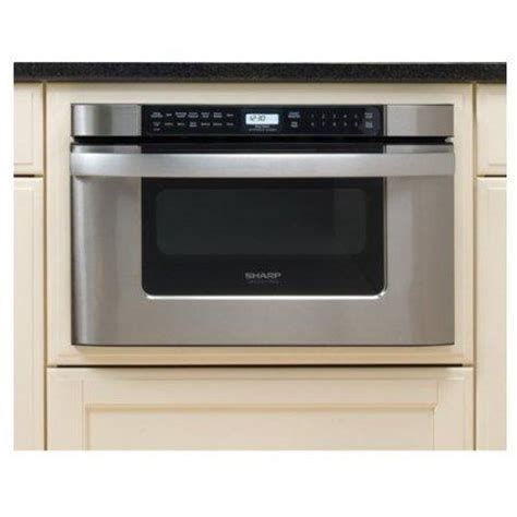 Sharp Drawer Microwave by Try A Microwave Drawer If You Lack Counter Space Infobarrel