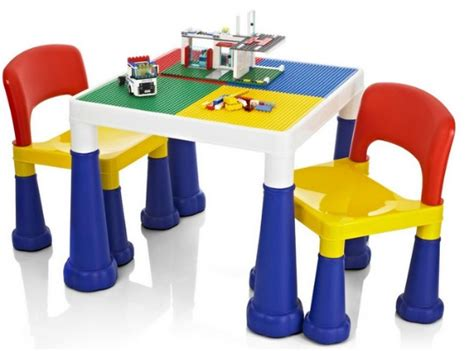 lego table for child children s lego compatible table chairs set 163 29 99
