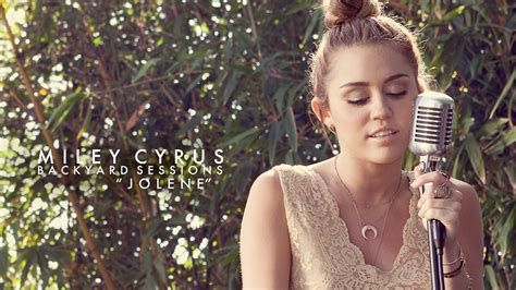 miley cyrus backyard sessions jolene miley cyrus quot jolene quot live on vimeo