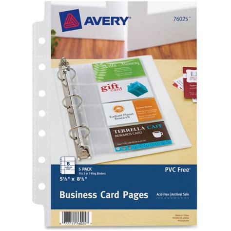 Avery Business Card Templates For Pages by Avery Mini Business Card Page Ave76025 Shoplet