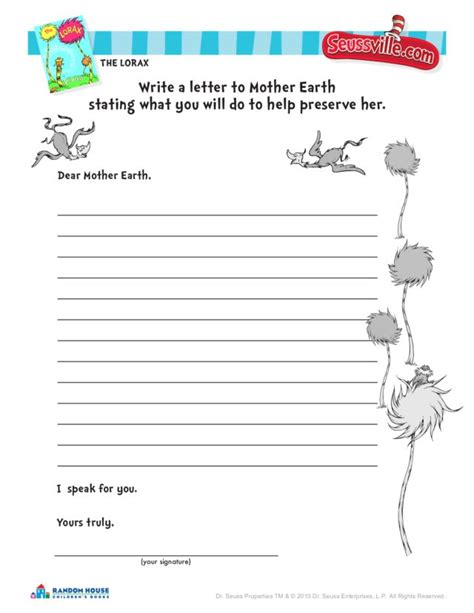 dr seuss printable activity sheets printables lorax worksheets happywheelsfreak thousands