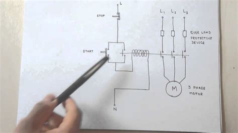 phase motor control circuit works youtube