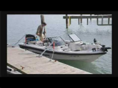 wake watchers boat mooring system pier tender portable mooring system youtube
