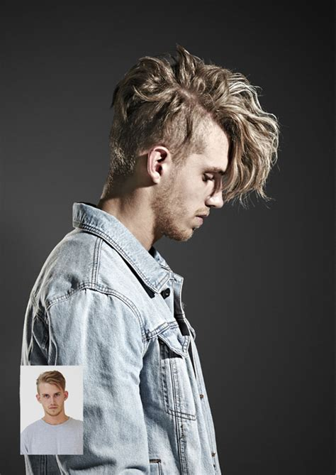 mens hair extensions before and after hip of horror mannen met hair extensions fashionscene nl