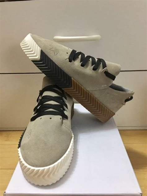 adidas  aw alexander wang skate grey black wm