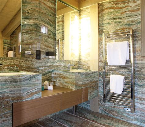 Bagno In Onice by Bathrooms Wellness Luxury Budri Italian Marble Inlay