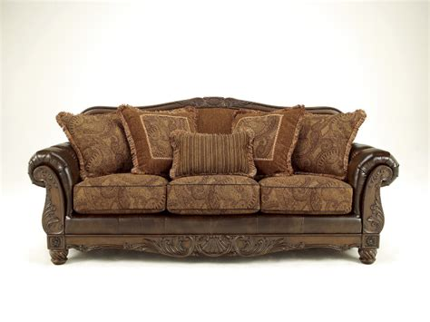 fresco antique sofa fresco 2pc set