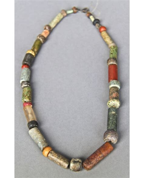 indian bead necklace antique american indian trade bead necklace multi