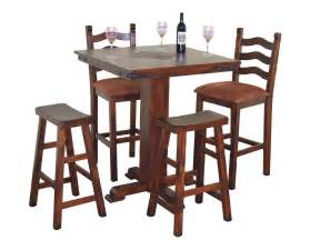 Game Room Table - sunny designs bar and game room santa fe pub table with slates 1232dc robinson furniture