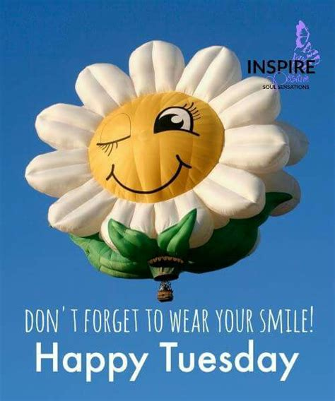 tuesday images don t forget to wear your smile happy tuesday pictures
