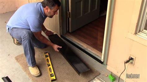 Under Secutity Screen Door, Gap Seal kit Installation