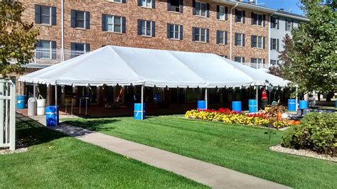 cottage grove place cedar rapids iowa senior living event set up at cottage grove place in cr ia