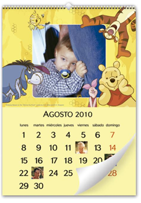 imagenes de winnie pooh tama o grande calendario de pared winnie the pooh 30x45 cm