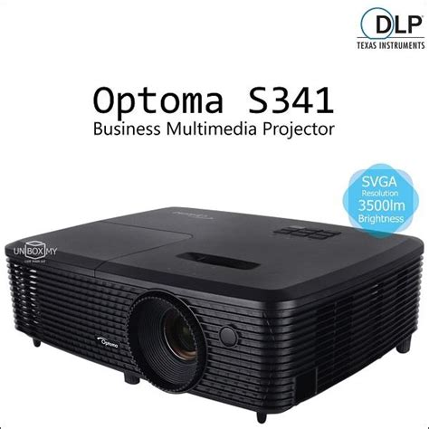 Proyektor Optoma S341 Optoma S341 Dlp Business Multimedia P End 9 7 2017 8 15 Pm