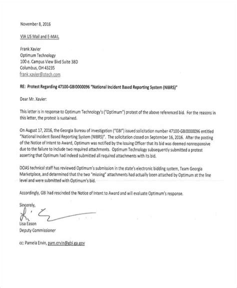 appointment letter reply sles bid rejection letter template 28 images 33 rejection