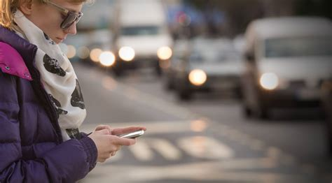 The Dangers Of Distracted Walking by Dangers Of Texting While Walking Adam S Kutner
