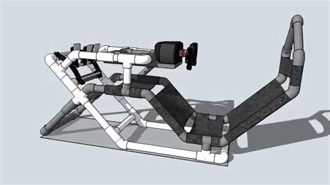 racing simulator chair plans found this pic of a pvc f1 cockpit anyone seen or built this