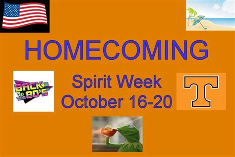 Celebrate Spiritday by Celebrate Spirit Week October 16 20 Tyrone Eagle Eye News