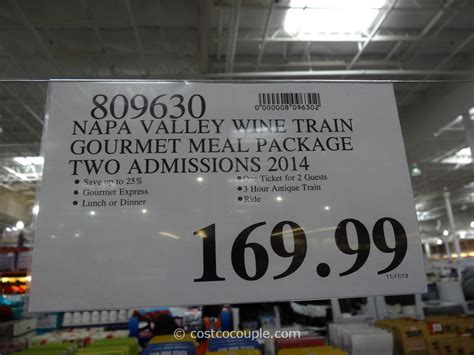 Pf Changs Gift Card Costco - napa valley wine train discount gift card
