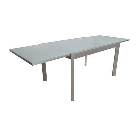 extendable table 86 off calligaris calligaris extendable glass dining