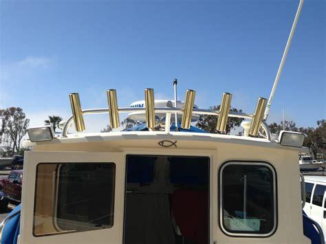 parker boats rod holders rod holder rocket launcher parker 23ft pilot house