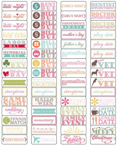 printable calendar labels elementary organization oh calendar my calendar