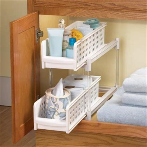Bathroom Cabinet Organizer by Collections Etc Find Unique Gifts At